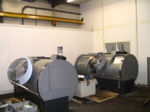 Delivery of two Style lathes